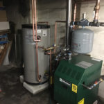 Looking for a boiler, indirect hot water heater, nice install? Call Robert Post HVAC.