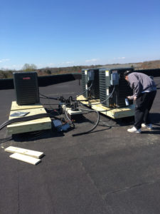 Commercial HVAC Installation by Robert Post HVAC